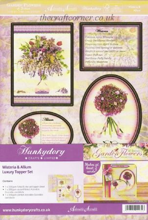 Wisteria & Allium Luxury Topper Set By Hunkydory